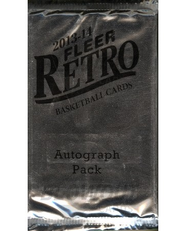 2013/14 Fleer Retro Basketball Autograph Bonus Pack