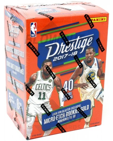 2017/18 Panini Prestige Basketball Blaster 20 Box Case