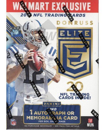 2017 Panini Donruss Elite Football Blaster Box