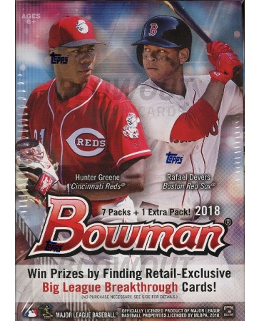 2018 Bowman Baseball Blaster Box