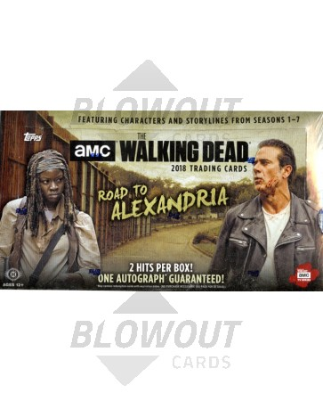 2018 Topps The Walking Dead Road to Alexandria