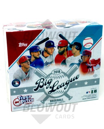 2018 Topps Big League Baseball 20 Box Case