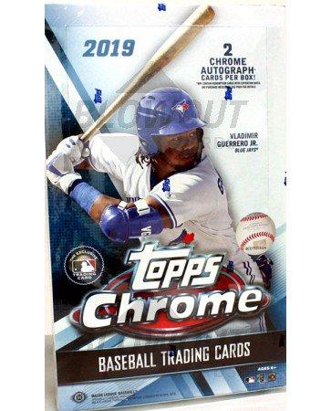 2019 Topps Chrome Baseball Hobby Box