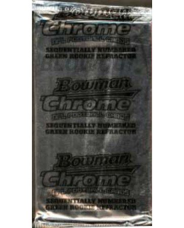 2005 Bowman Chrome Football Hobby Box Toppers - 10ct Box
