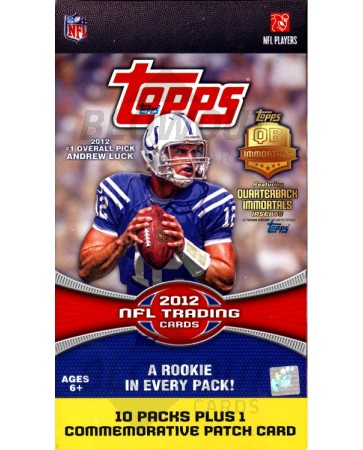 2012 Topps Football Blaster Box