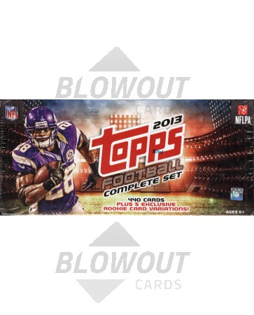 2013 Topps Football Factory Set - Retail