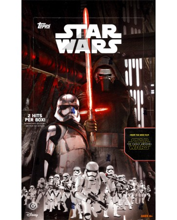 Topps Star Wars The Force Awakens Hobby 12 Box Case