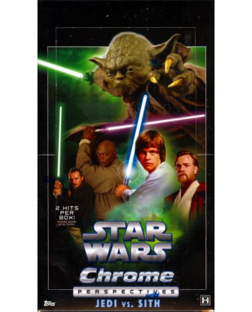 Topps Star Wars Chrome Perspectives: Jedi Vs Sith 12 Box Case