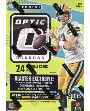 2016 Panini Donruss Optic Football Blaster Box