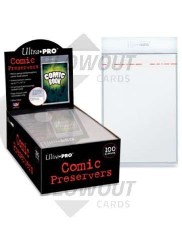 Ultra Pro Comic Preserver 100ct Box [81762]