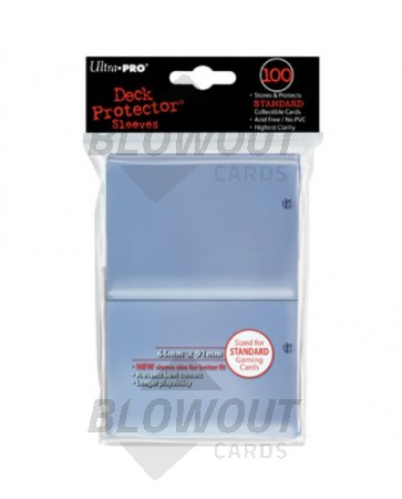 Ultra Pro Deck Protector Standard Size Clear - 100ct Pack