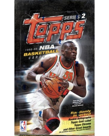 1998/99 Topps Series 2 Basketball Box