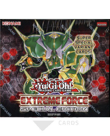 Yugioh Extreme Force Special Edition Booster