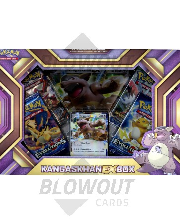 Pokemon Kangaskhan EX Box