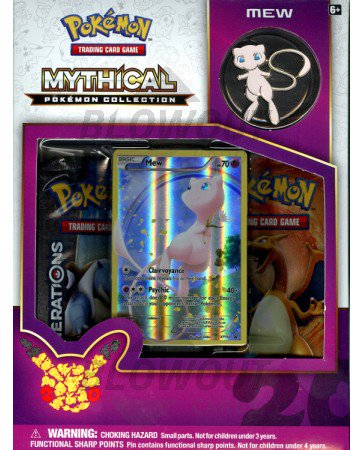 Pokemon Mythical Collection - Mew Box
