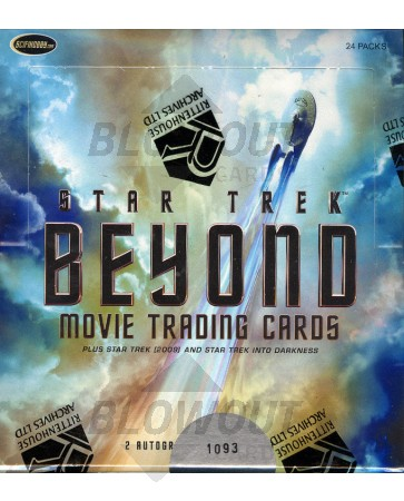 Star Trek: Beyond Movie Trading Cards Box