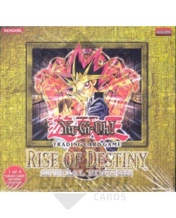 Yugioh Rise of Destiny (ROD) Special Edition Box