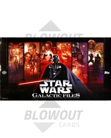 Topps Star Wars Galactic Files Hobby 12 Box Case