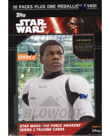 Topps Star Wars The Force Awakens Ser 2 Blaster 16 Box Case