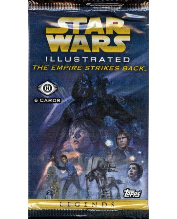 Topps Star Wars Illustrated: The Empire Strikes Back Pack