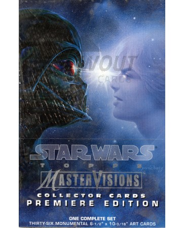 Topps Star Wars Mastervisions Premiere Edition Set Box