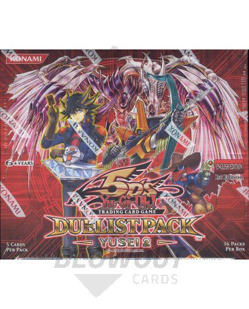Yugioh Yusei 2 Duelist Pack 1st Edition Booster Box