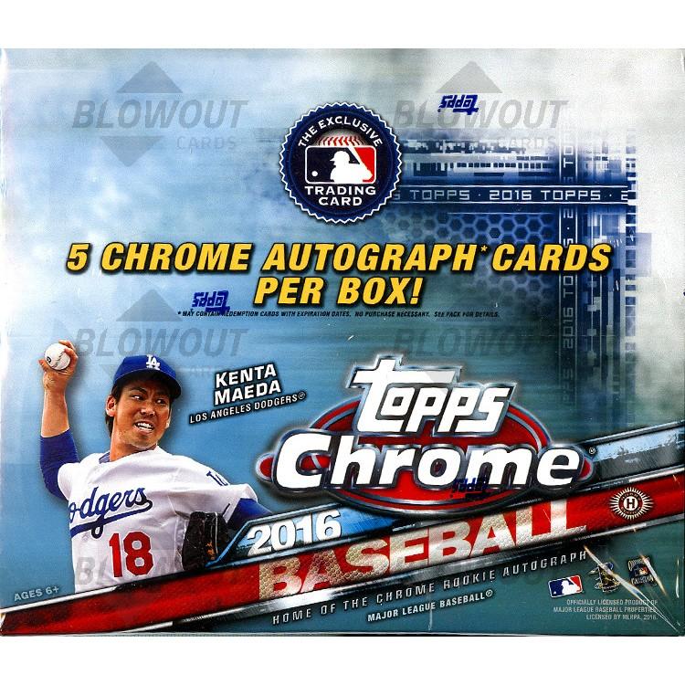 82dee3fb463 2016 Topps Chrome Baseball Jumbo HTA Box · Zoom