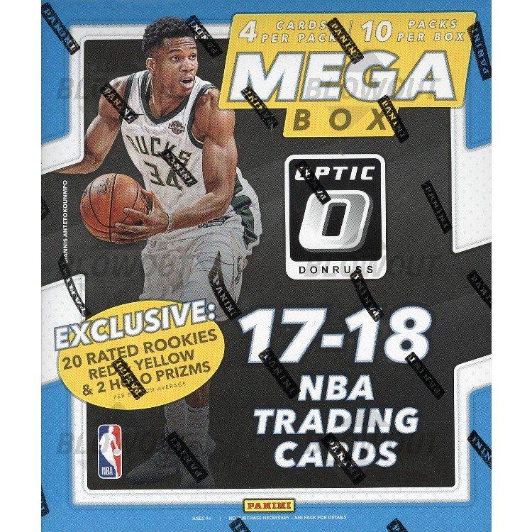 33294168bcb 2017 18 Panini Donruss Optic Basketball Mega Box