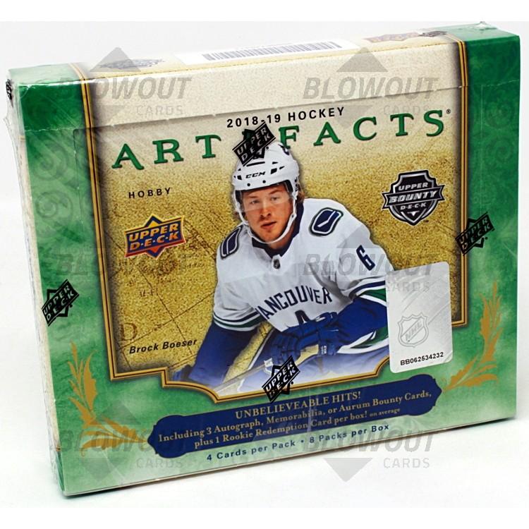da0589d9d ... Upper Deck Artifacts Hockey Hobby Box · Zoom