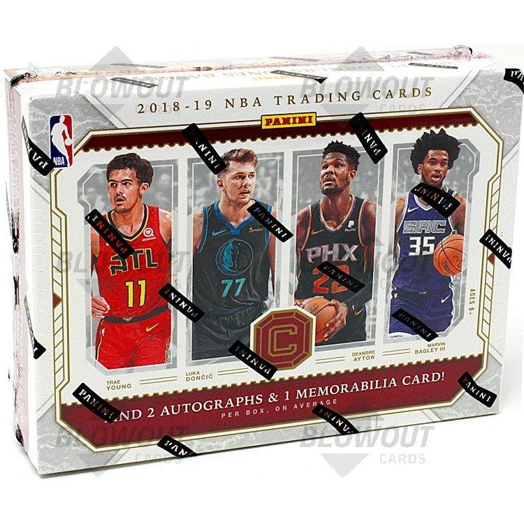 2018 19 Panini Nba Hoops Basketball Hobby Box: 2018/19 Panini Cornerstones Basketball Hobby Box