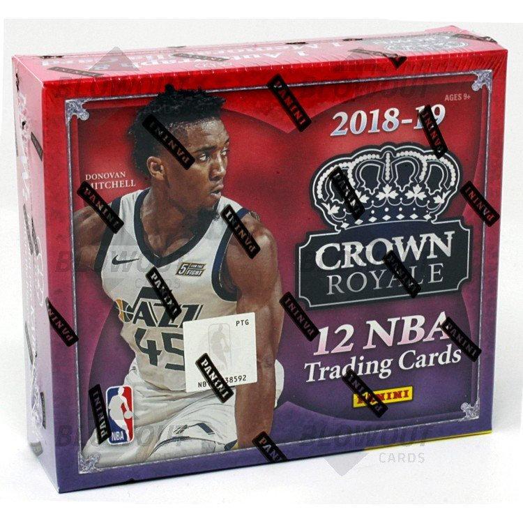 New Cover S Alert The 2017 18 Nba Rookies: 2018/19 Panini Crown Royale Basketball Hobby 16 Box Case