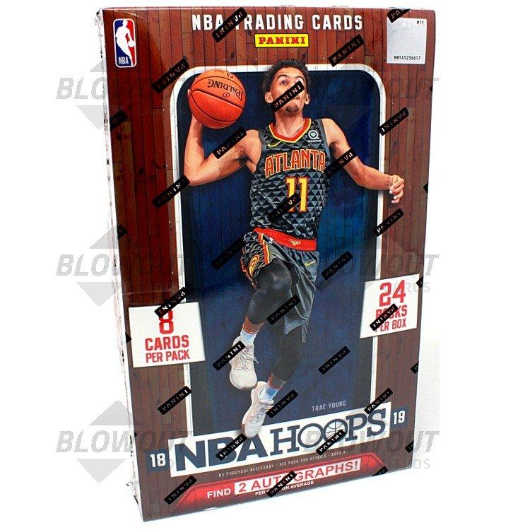 44b585b5c12d 2018 19 Panini NBA Hoops Basketball Hobby Box