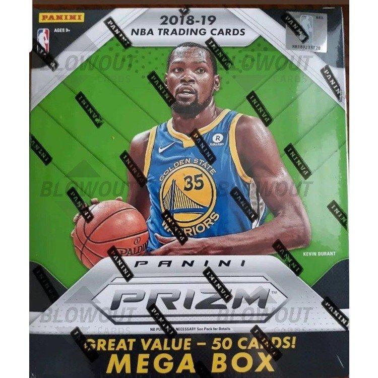 Verzamelkaarten, ruilkaarten 2017-18 Panini Prizm NBA Basketball MEGA BOX SEALED 50 Rated Rookie Card