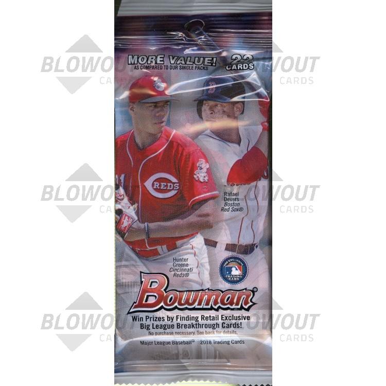 2018 Bowman Baseball Fat Pack