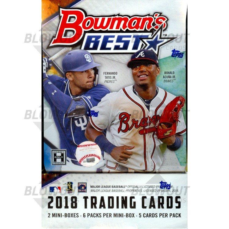 2018 Bowmans Best Baseball Hobby Box