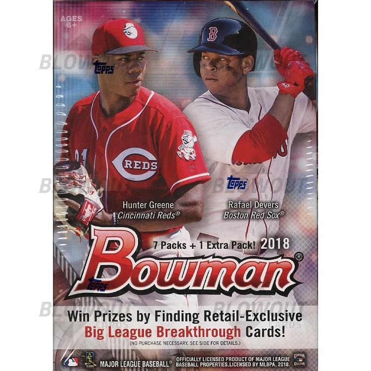 2018 Bowman Baseball Blaster 20 Box Lot