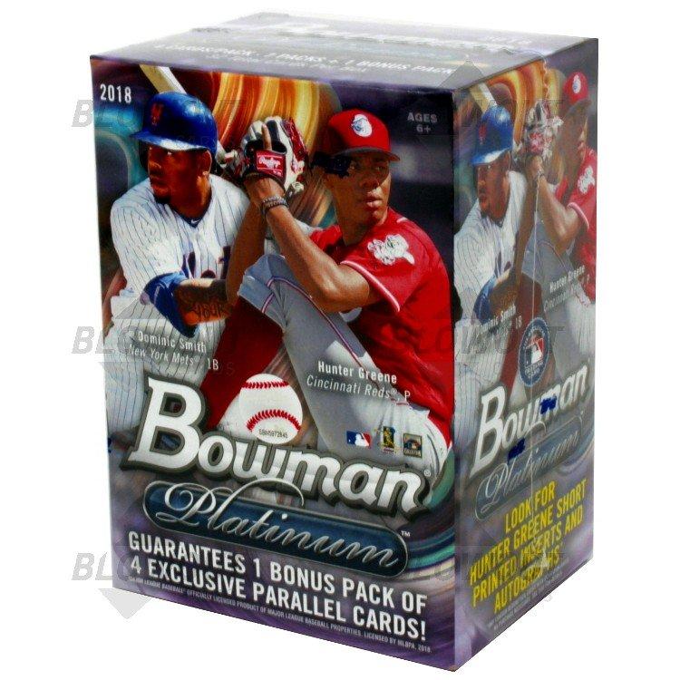 2018 Bowman Platinum Baseball Blaster Box