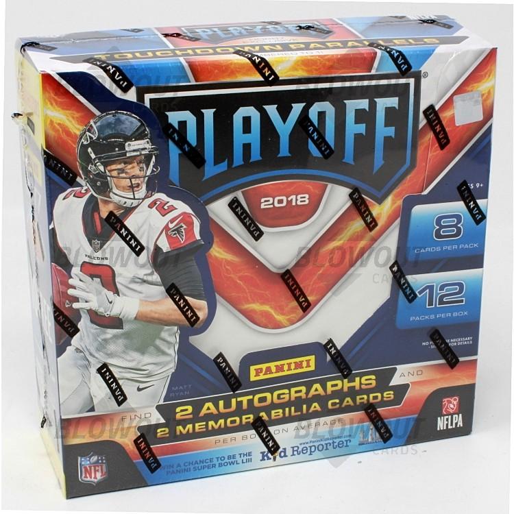 2018 Panini Playoff Football Hobby Box · Zoom 5e475624e