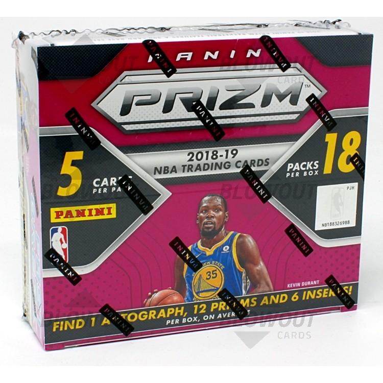2018//19 PANINI PRIZM FAST BREAK BASKETBALL BOX