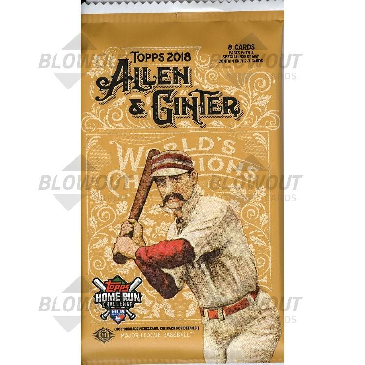 2018 Topps Allen Ginter Baseball Hobby Pack