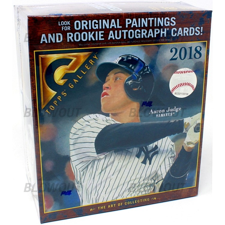 2018 Topps Gallery Baseball Box