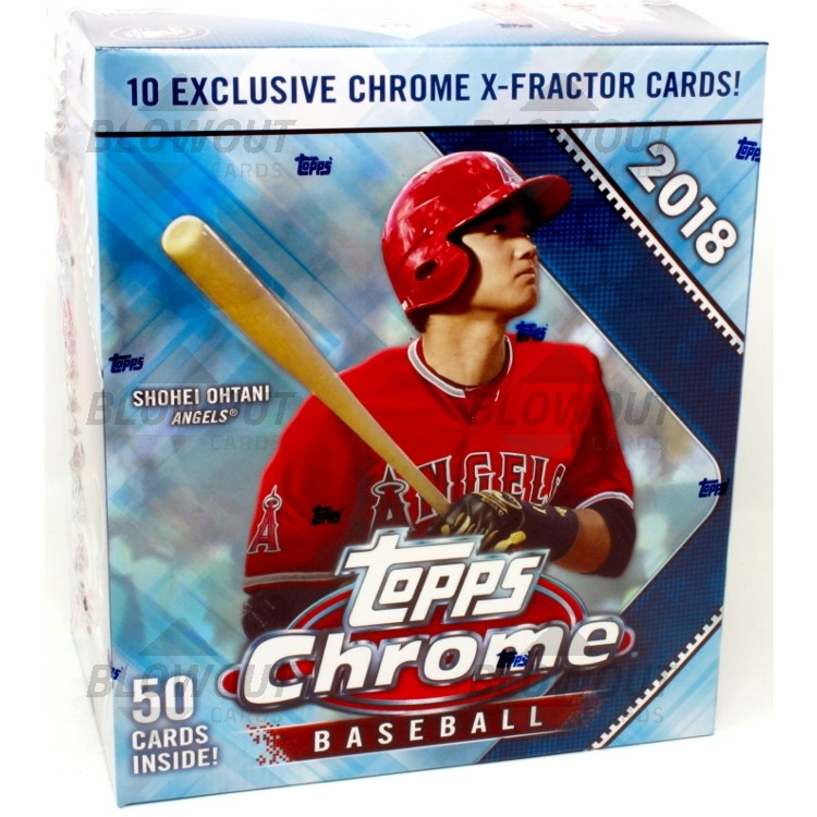 2018 Topps Chrome Baseball Monster Box