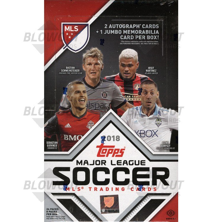 6a19b5ab451 2018 Topps MLS Soccer Hobby Box · Zoom