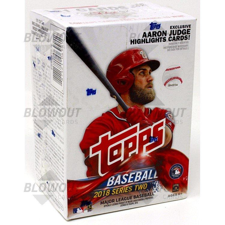 2018 Topps Series 2 Baseball Blaster Box