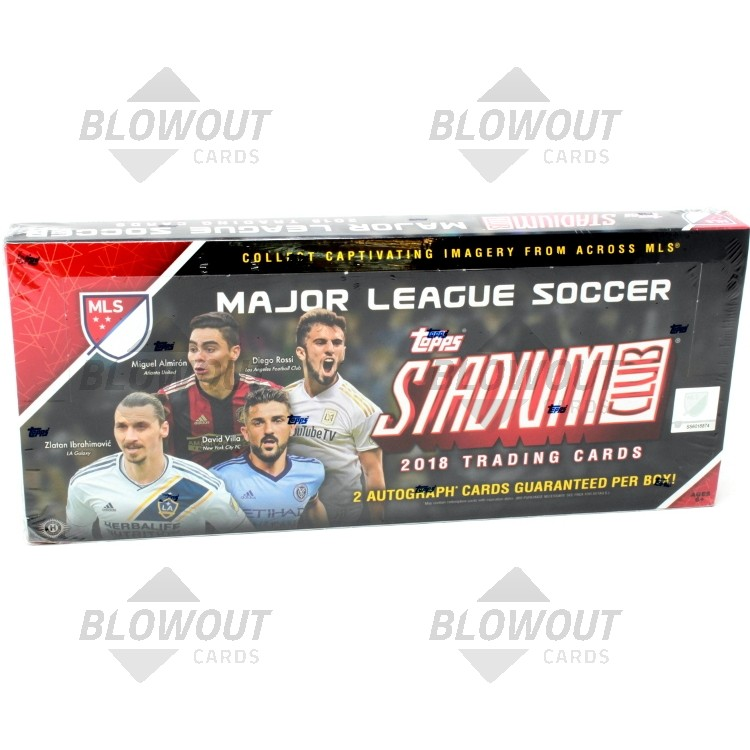 9722a97b2cb 2018 Topps Stadium Club MLS Soccer Hobby Box · Zoom