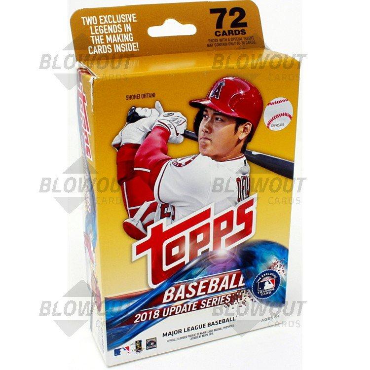 2018 Topps Update Series Baseball Hanger Pack
