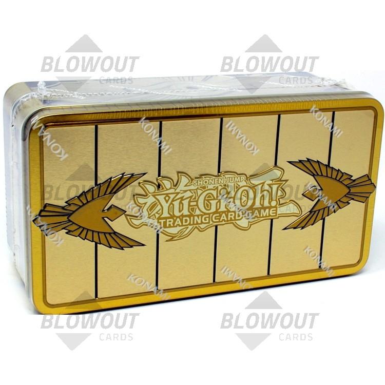 Yugioh Mega Tin 2020 Card List.Yugioh 2019 Mega Tin Gold Sarcophagus 12 Tin Case