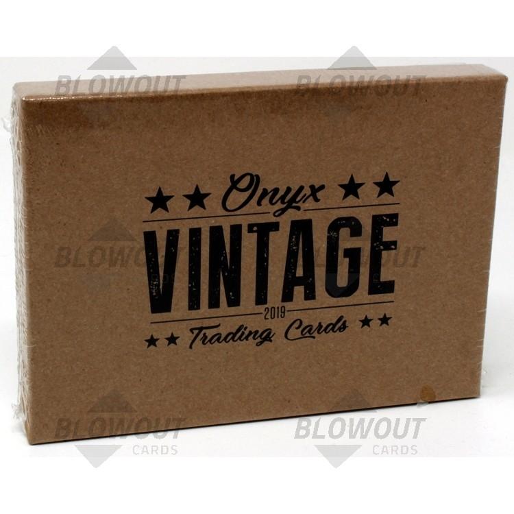 2019 Onyx Vintage Collection Baseball Box