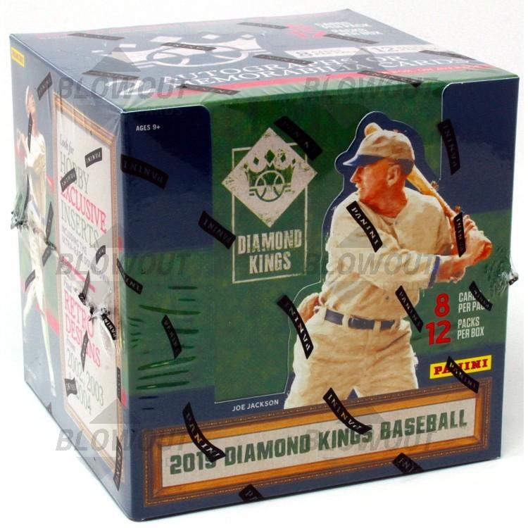 Diamond Kings 2019 Panini Baseball Hobby Box