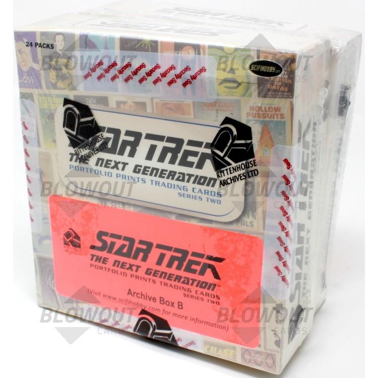 Star Trek The Next Generation Portfolio Prints Ser 2 Archive Box